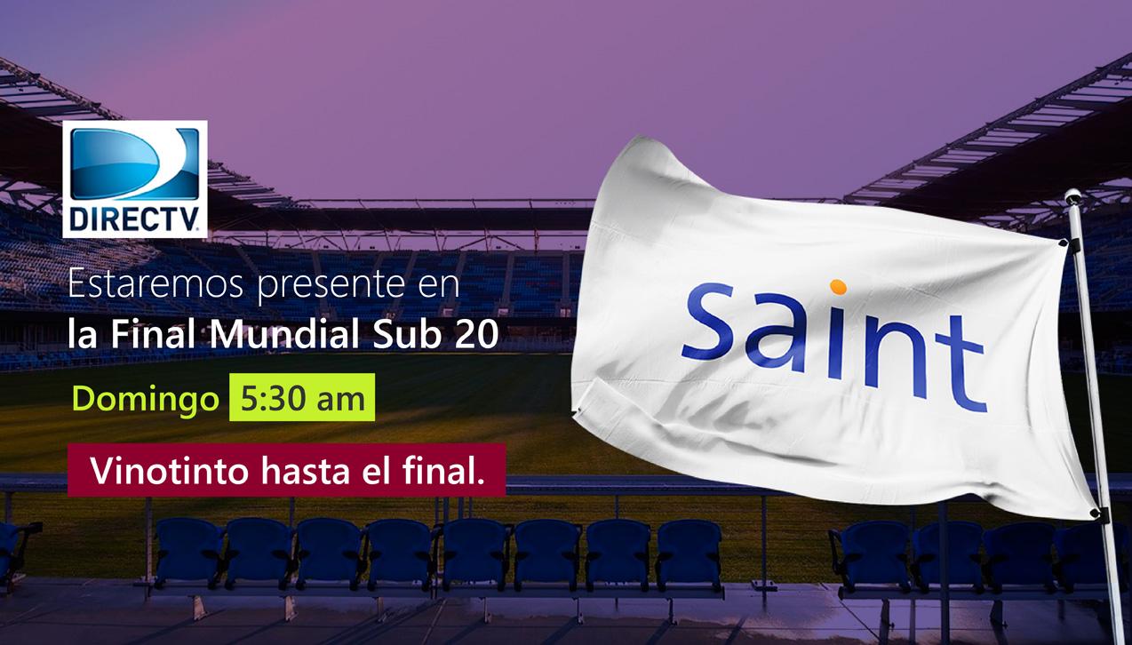 Estaremos presentes en la final Mundial Sub 20