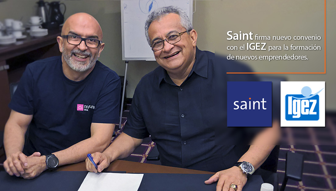 Saint firma acuerdo con el IGEZ (Instituto de Gerencia yEstrategiadel Zulia)