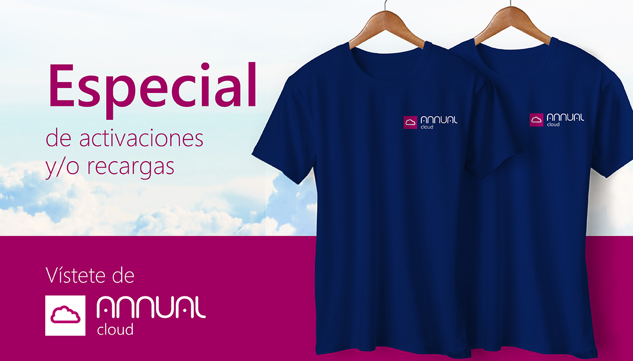Queremos que te vistas de Annual Cloud.
