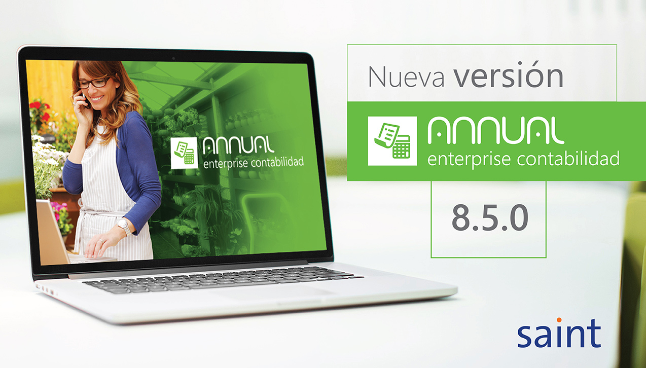 Disponible actualización de ANNUAL enterprise contabilidad 8.5.0
