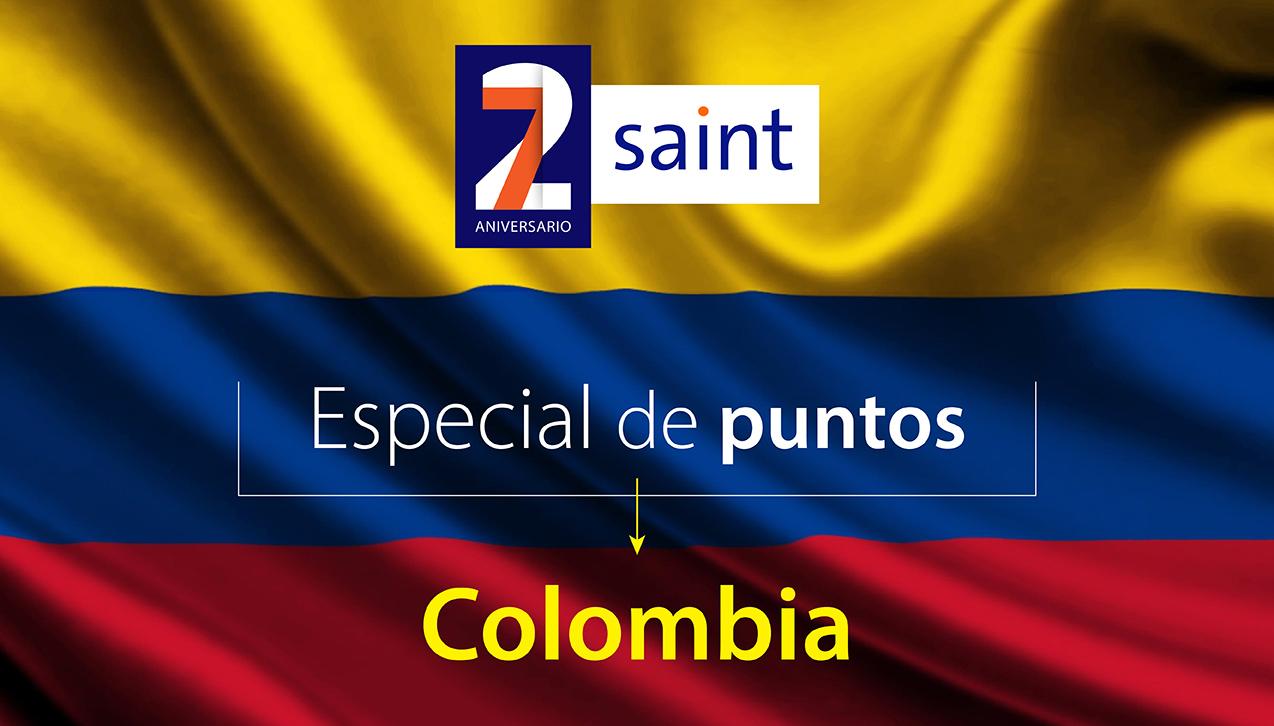 Especial de puntos Colombia, 27 aniversario.