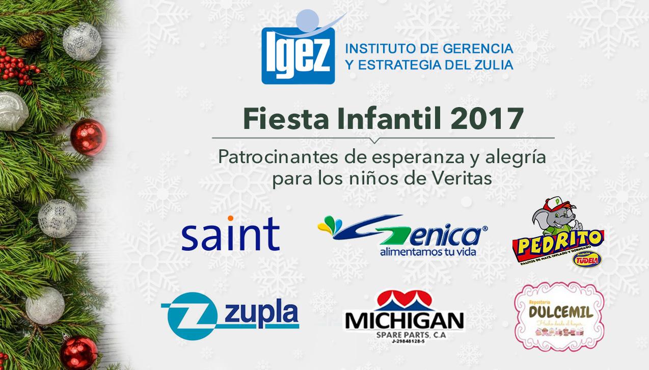 Participamos en el patrocinio de la fiesta infantil IGEZ 2017