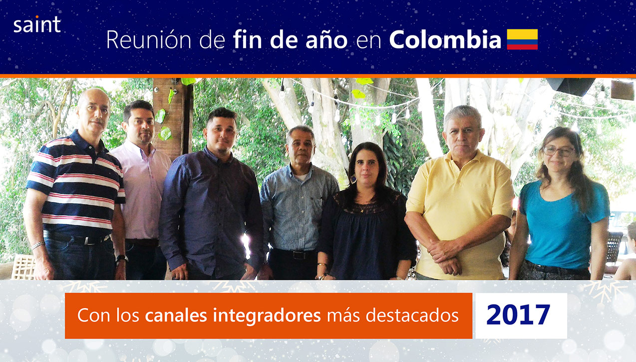 Celebramos exitoso fin de año fiscal 2017 en Colombia.