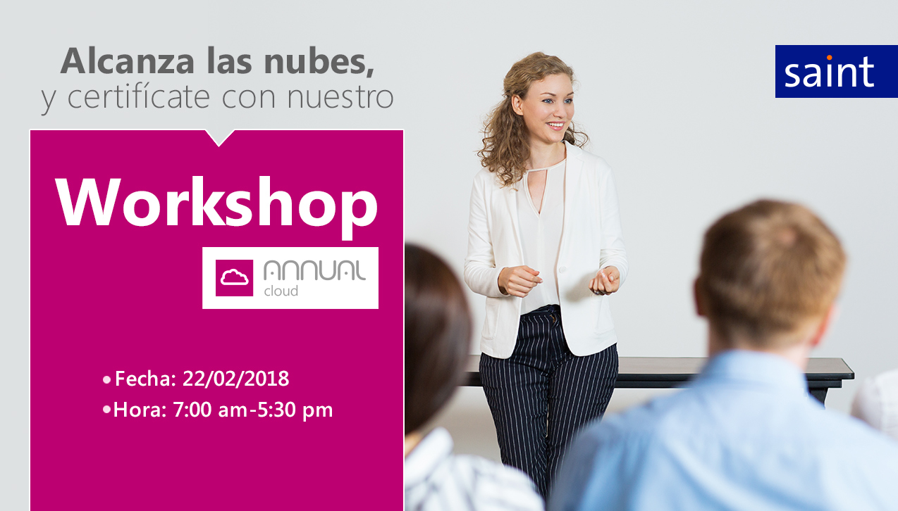 Alcanza las nubes en el Workshop de Annual Cloud