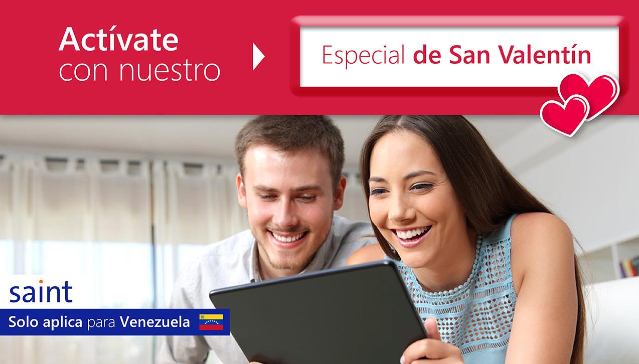 Especial de activaciones, San Valentín Venezuela.