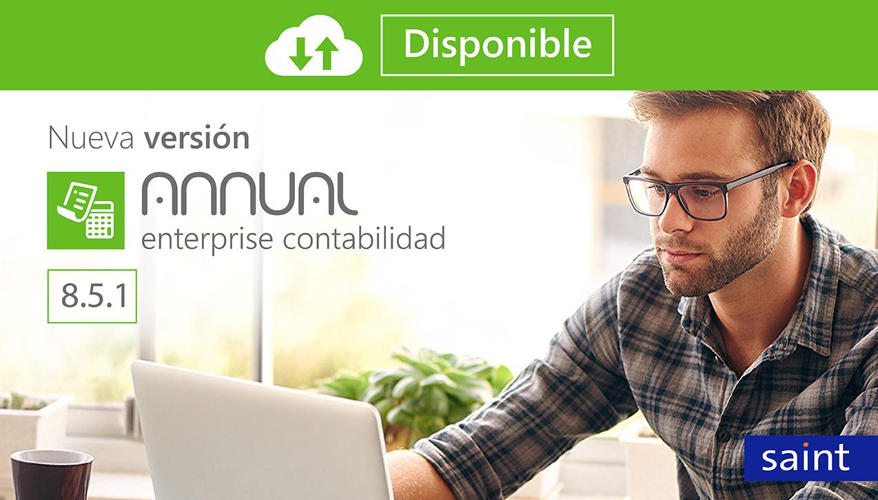 Disponible nueva versión de Annual Enterprise Contabilidad 8.5.1