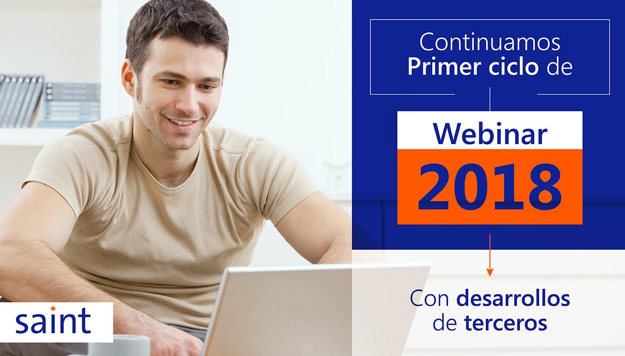 Registro webinars de desarrollos de terceros