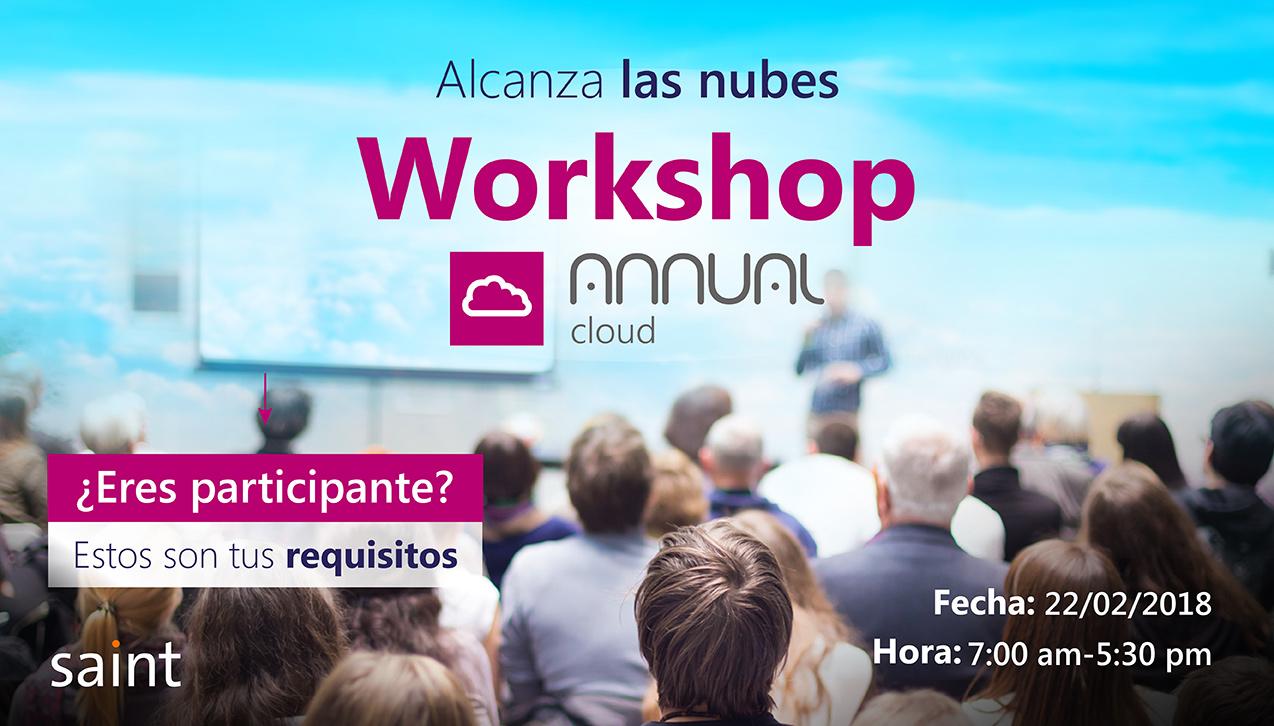 ¿Eres participante del Workshop de Annual Cloud?