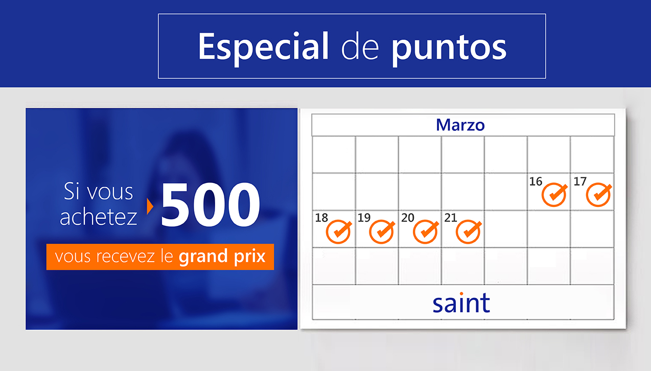 Especial de puntos Grand Prix 500