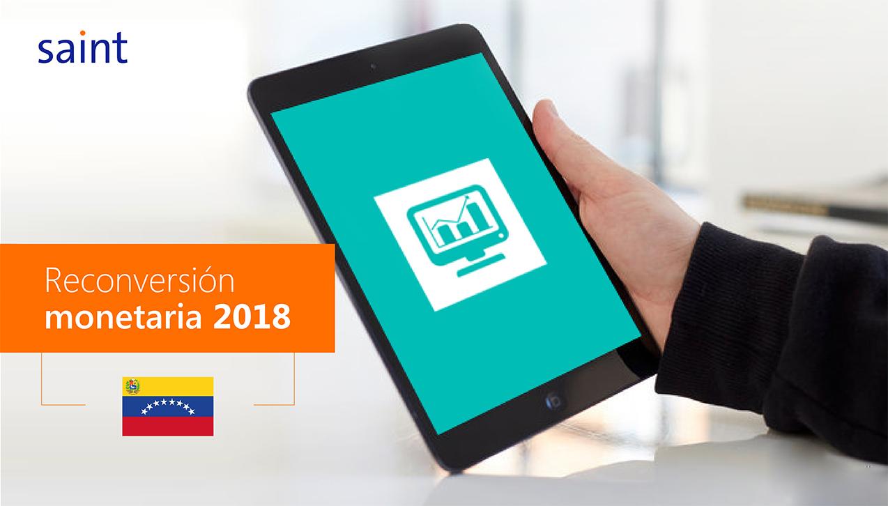 Reconversión monetaria Venezuela 2018.
