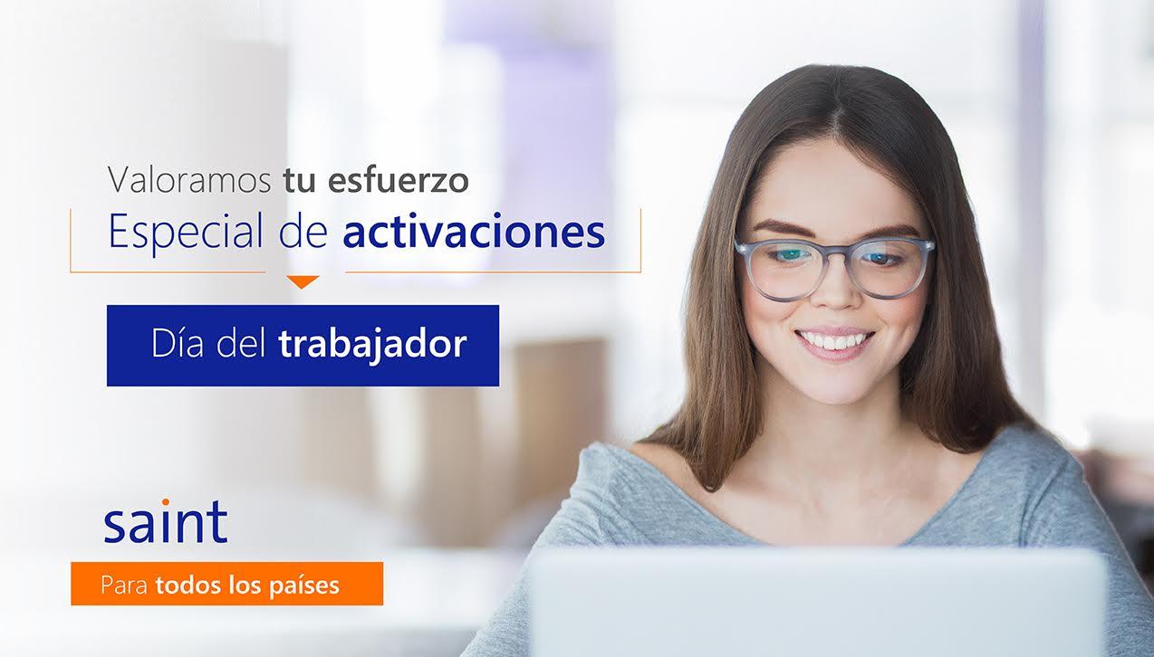"""Especial de ACTIVACIONES """"Día Internacional del Trabajador"""""""