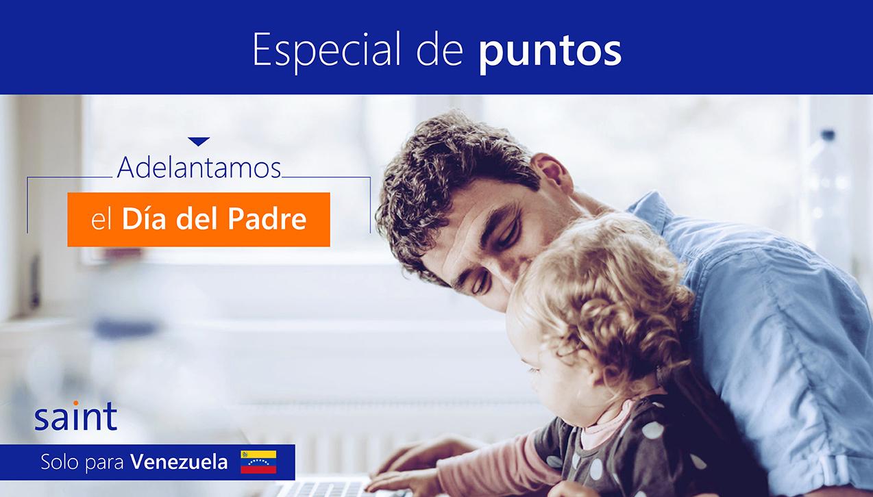 """Especial de puntos """"Día del Padre en Venezuela"""""""