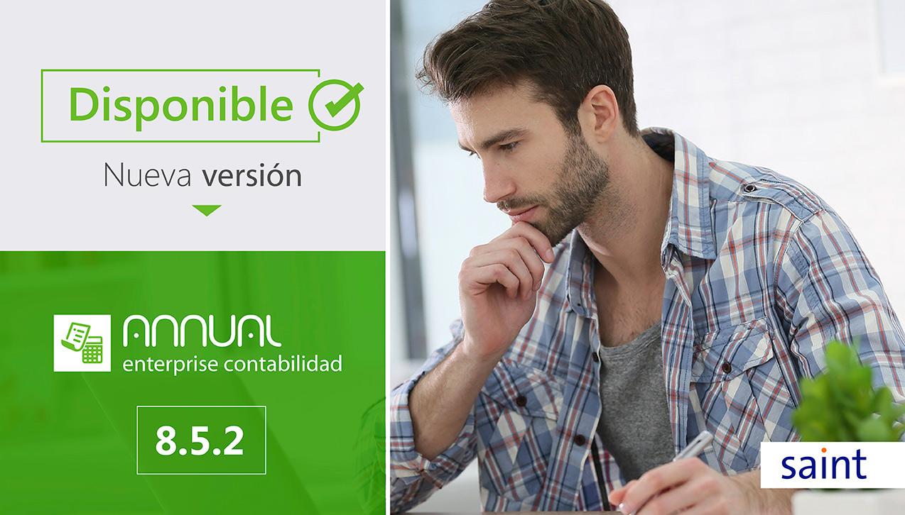 Nueva versión de Annual Enterprise contabilidad 8.5.2
