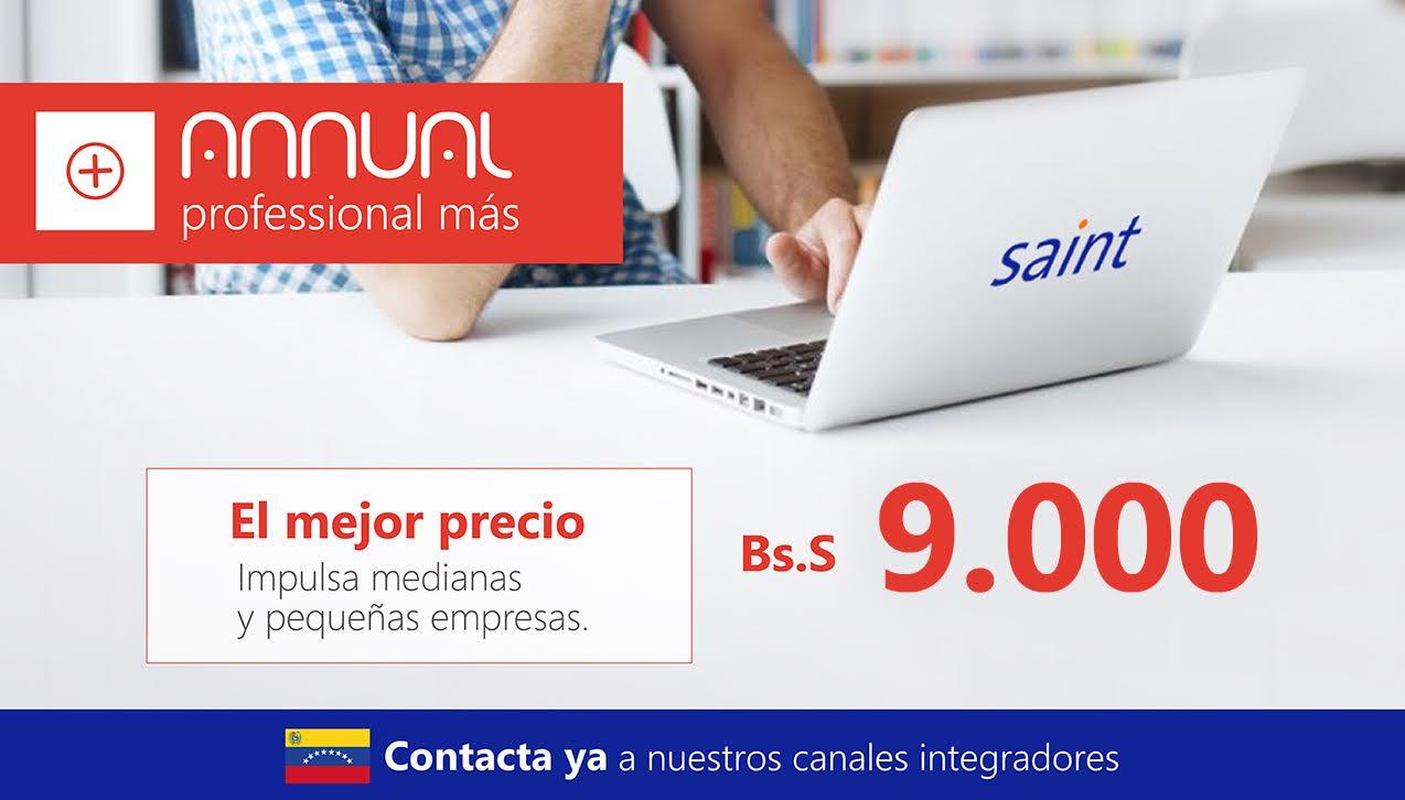 Venezuela: Annual professional más, a nuevo precio.