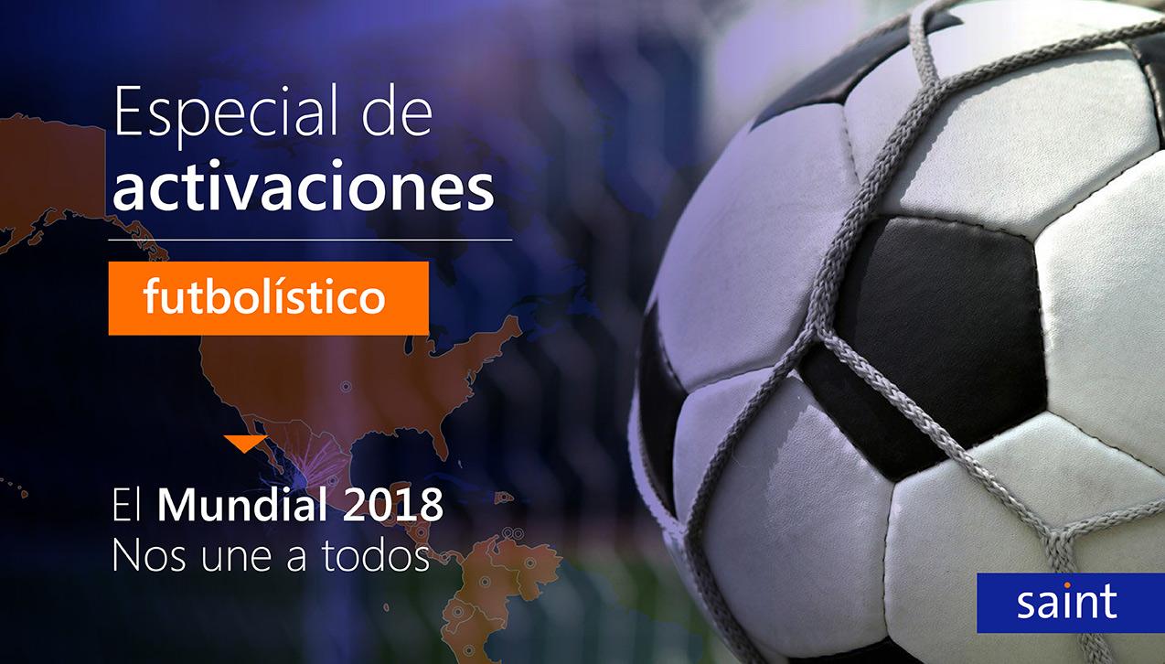 Especial de activaciones Futbolístico Para todos los países.