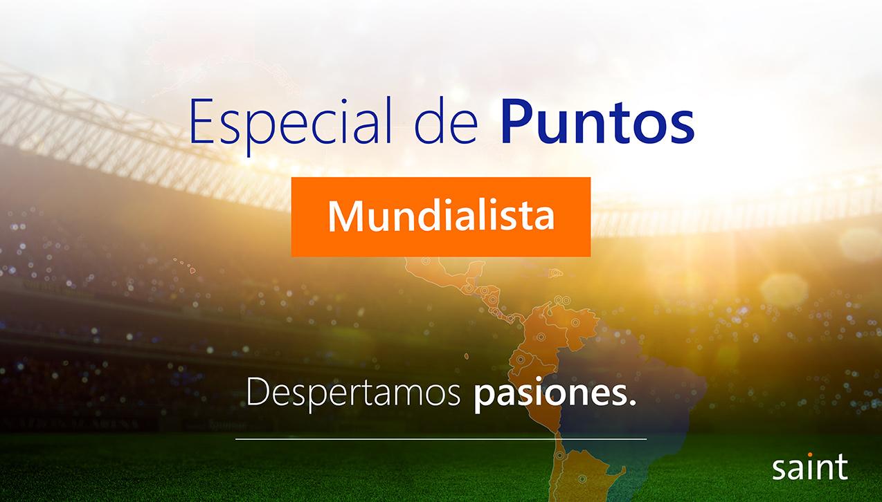 Especial de puntos Mundialistapara Venezuela