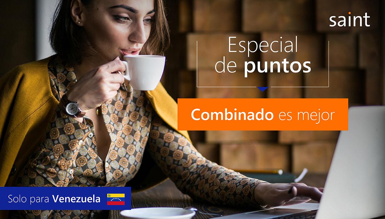 """Especial de puntos """"Combinado es mejor"""" para Venezuela"""