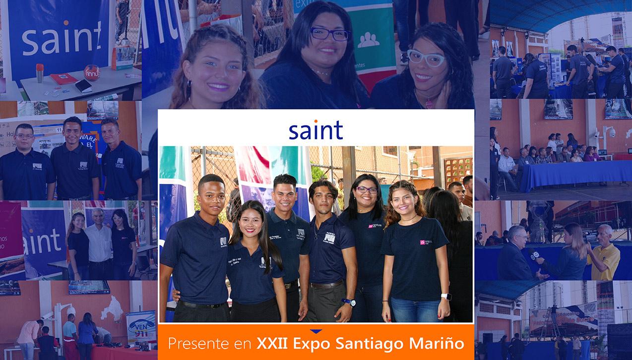 Saint presente en la XXII Expo Santiago Mariño