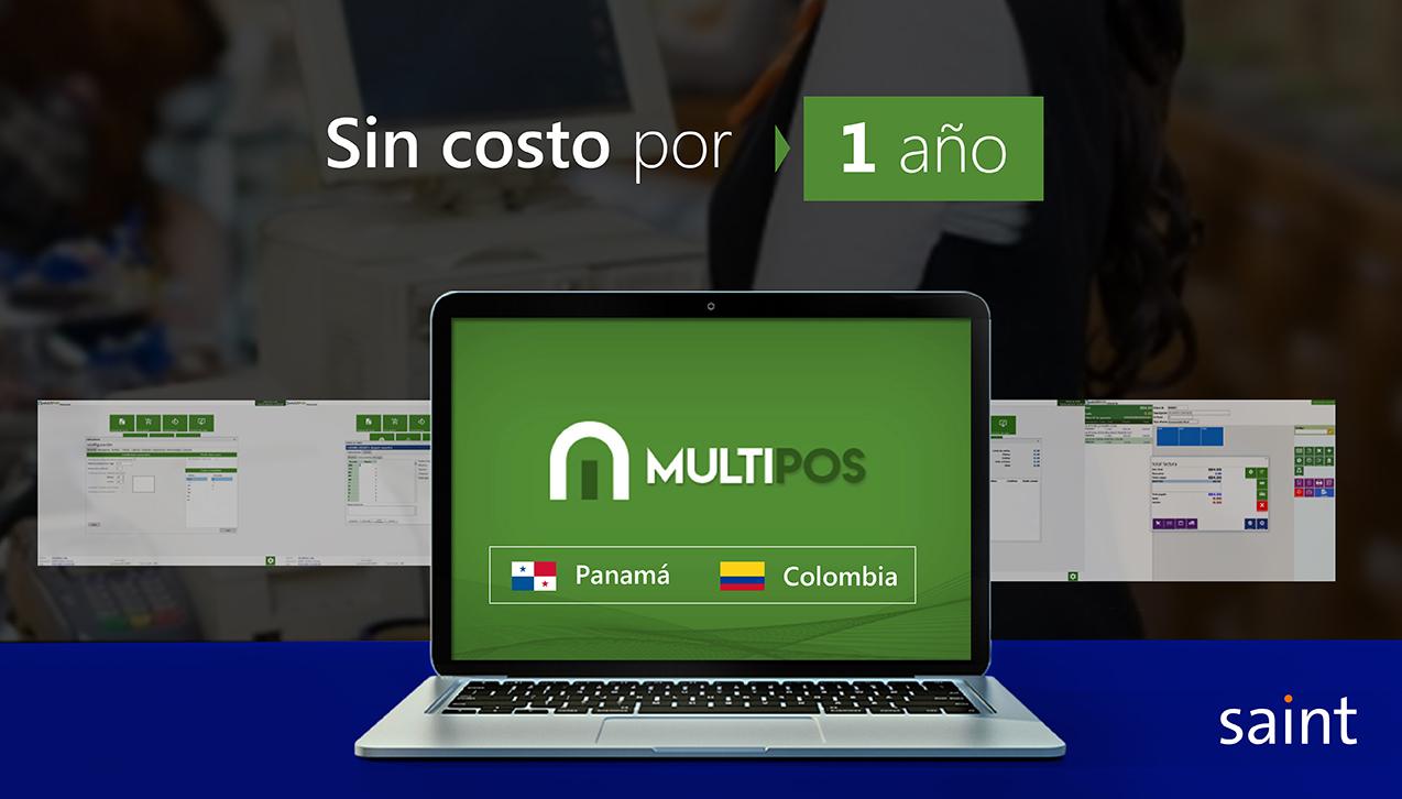 Especial punto de venta, MultiPos para Colombia y Panamá