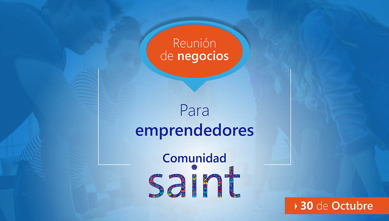 Reunión de negocios con Emprendedores Saint