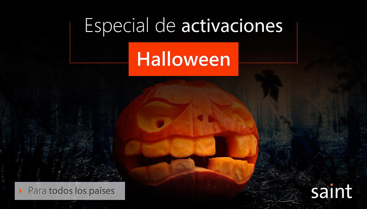 Especial de activaciones Halloween 2018
