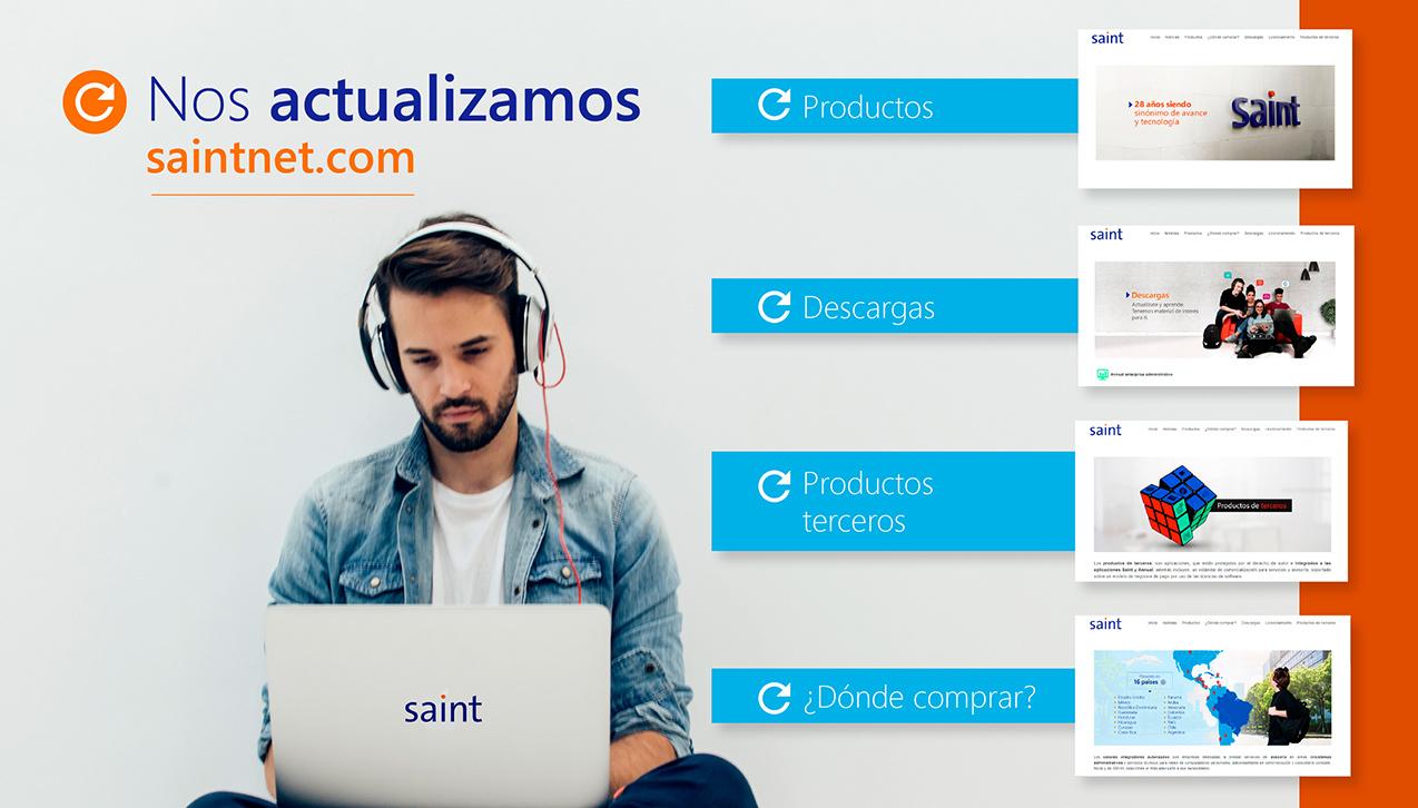 Actualizamos saintnet.com para mejorar tu experiencia