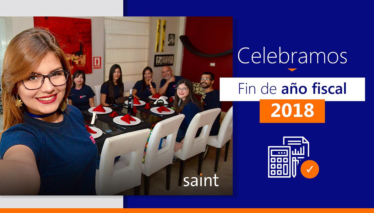 Buen año 2018 para toda la comunidad Saint