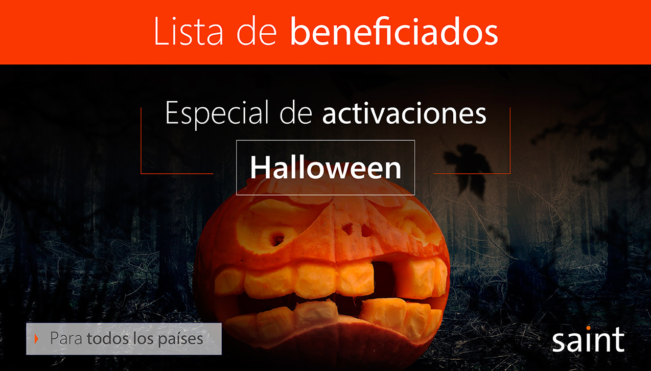 Beneficiados del especial de Halloween