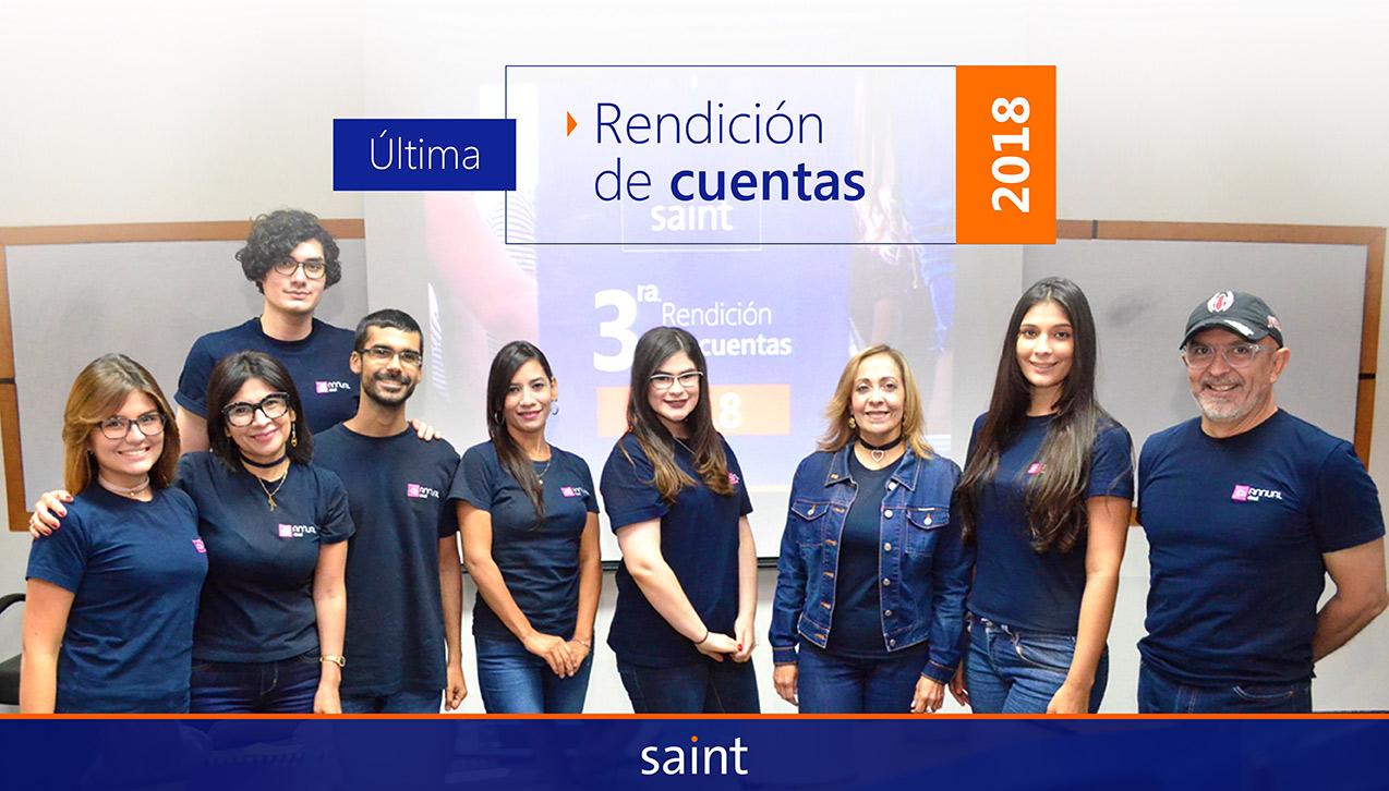 Saint casa matrizrindió cuentasde 2018
