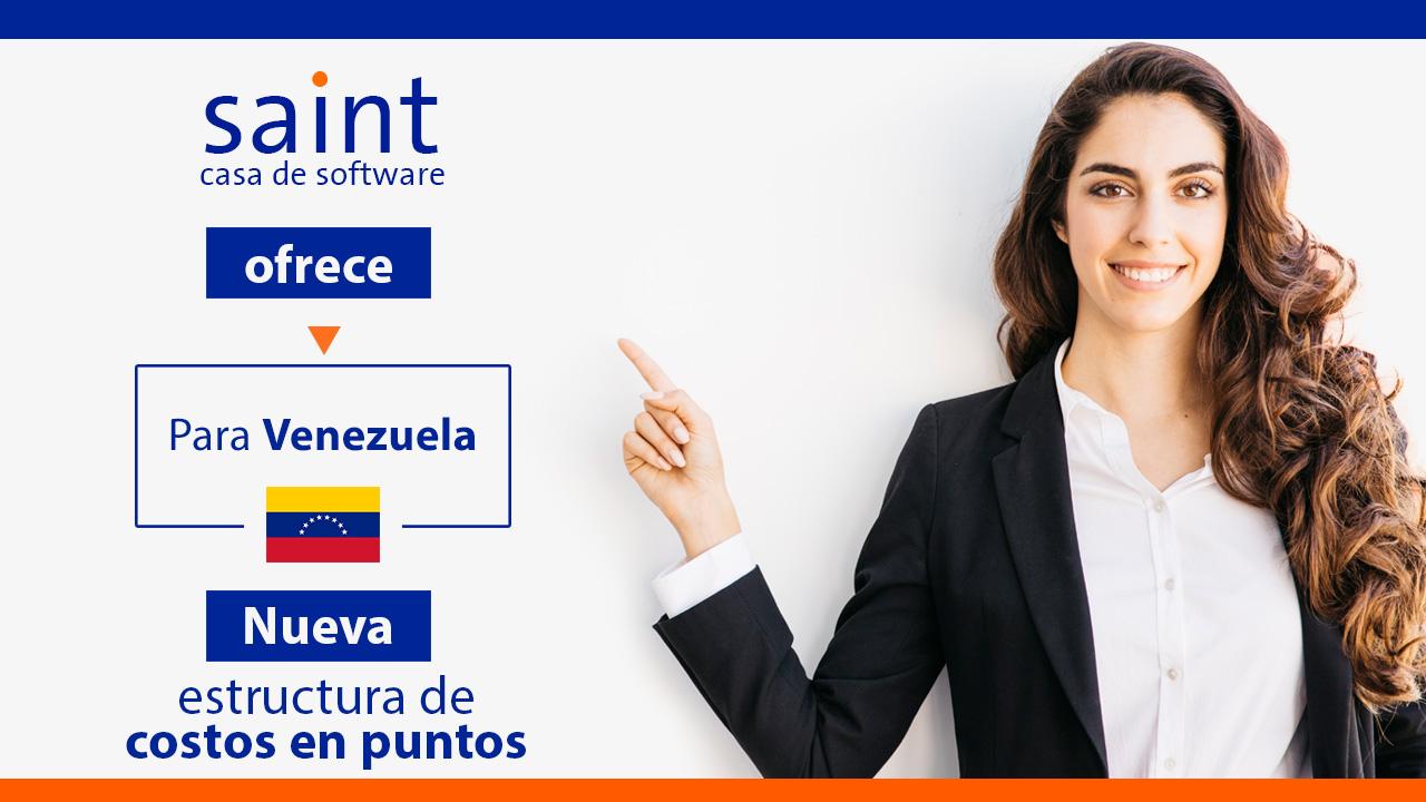 Venezuela: nueva estructura de costos en puntos