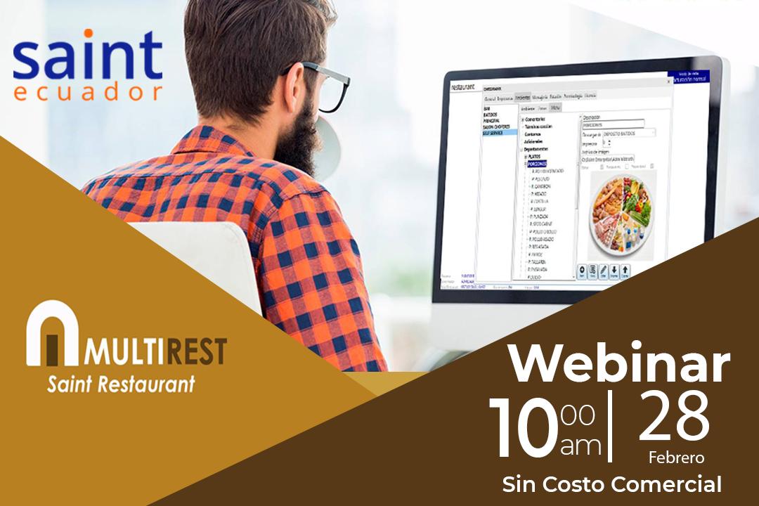 Webinar MultiRest  administración de Restaurantes