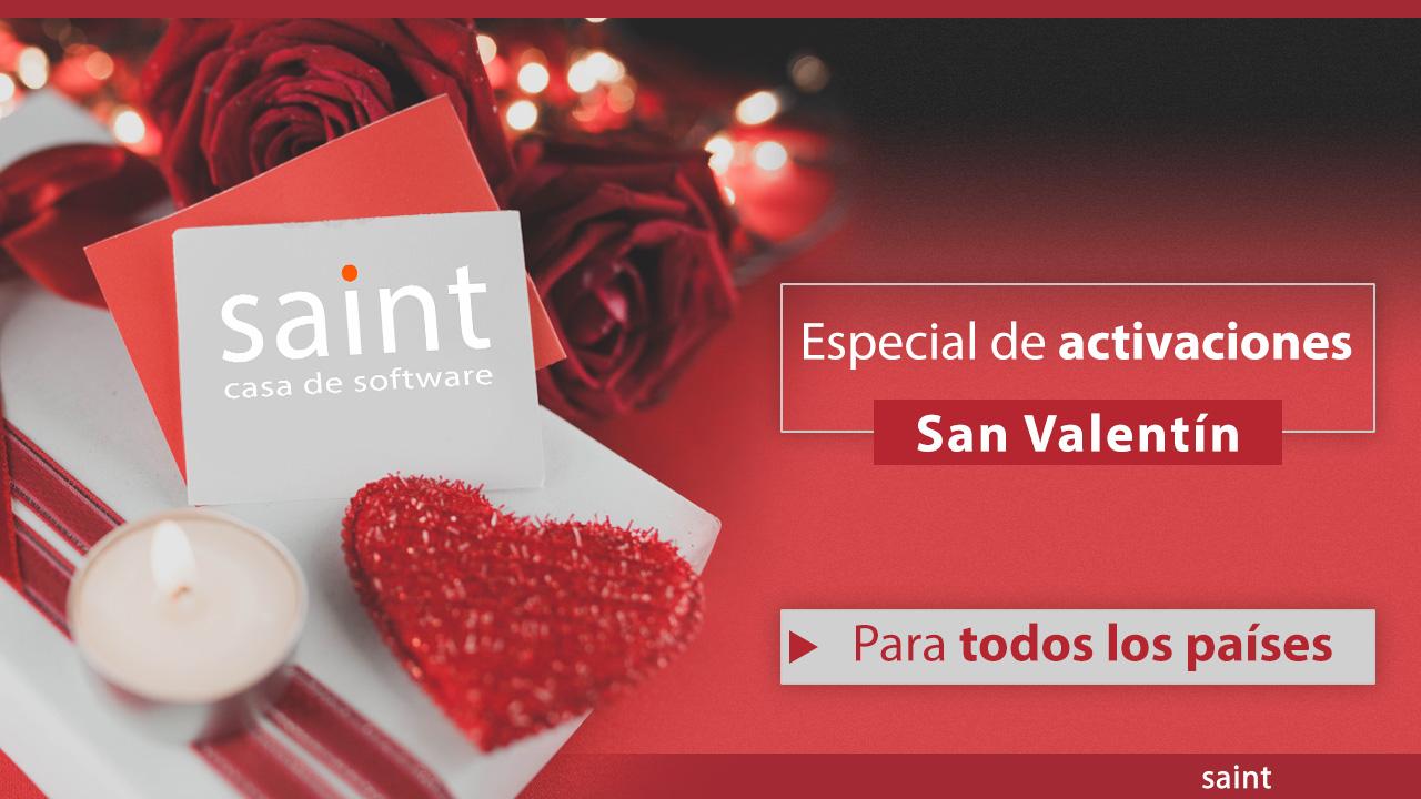 Especial de activaciones San Valentín 2019