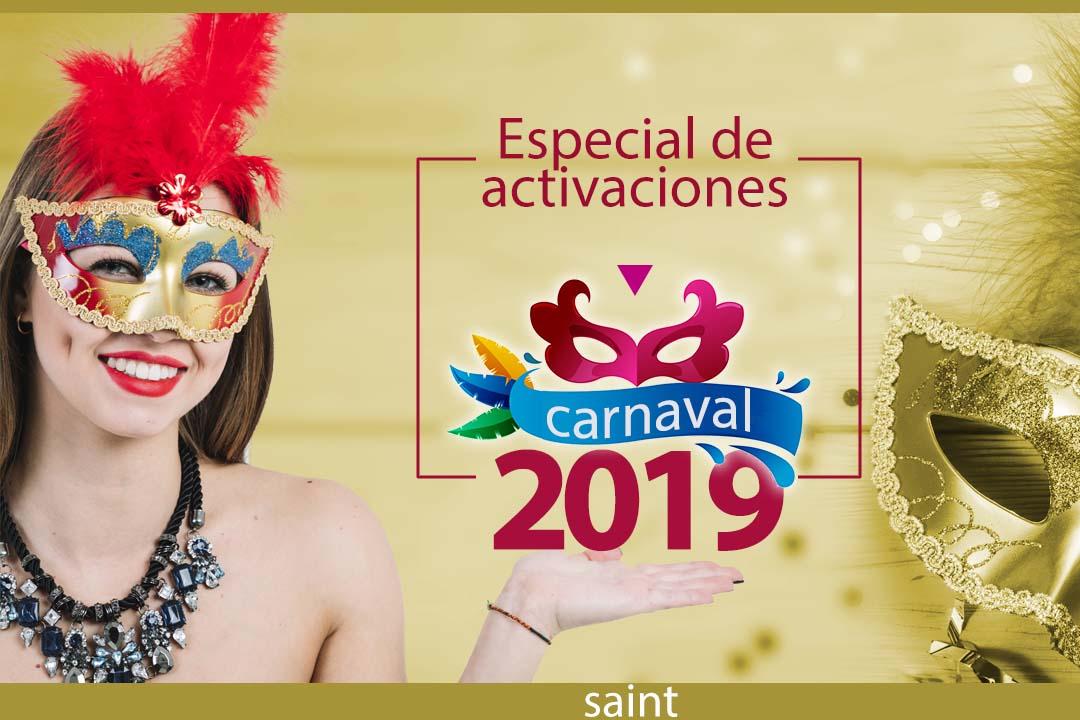 Especialde activaciones Carnaval2019