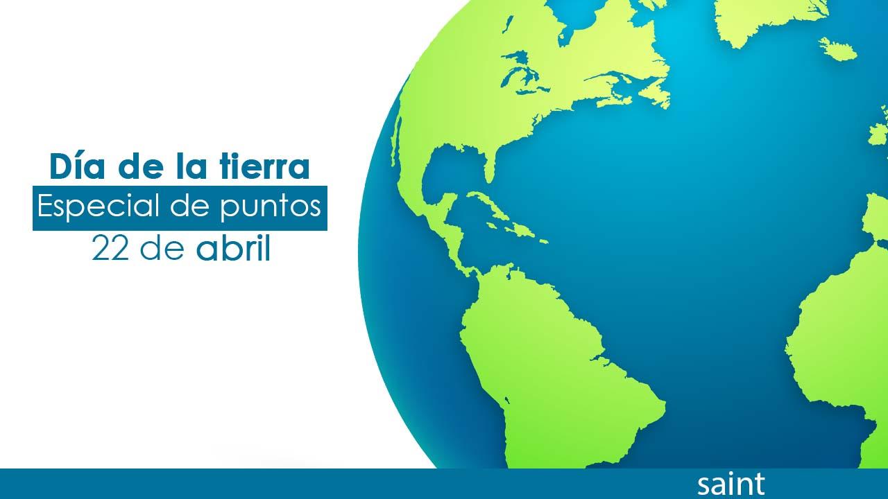 Especial de puntos para Colombia y Panamá, día de la tierra