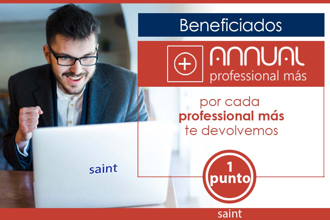 Beneficiados Gana más con Annual Professional más