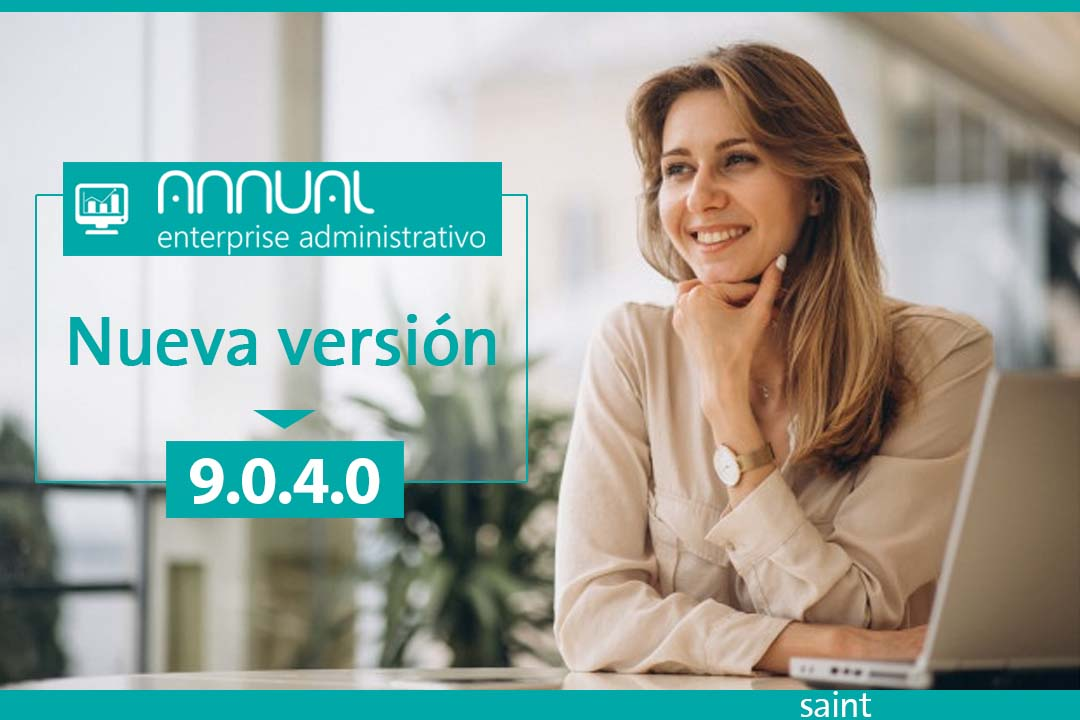 Disponible ANNUAL enterprise administrativo 9.0.4.0