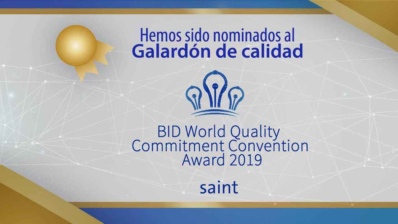 Nominados al World Quality Commitment Madrid 2019