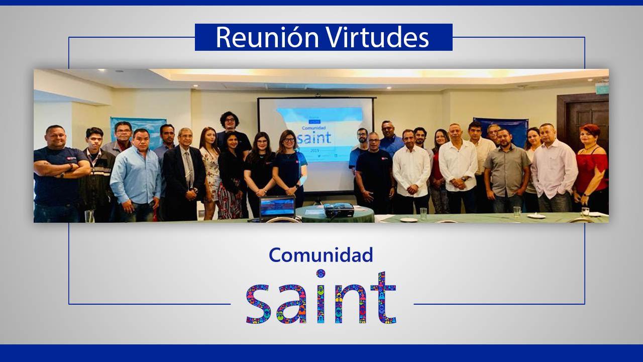 Reunión virtudes Comunidad Saint