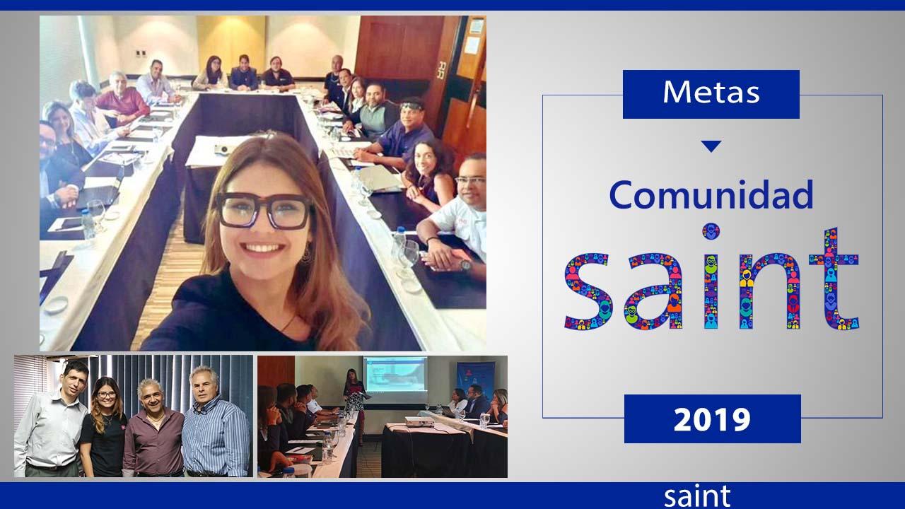 Gestión primera mitad del año 2019 Comunidad Saint