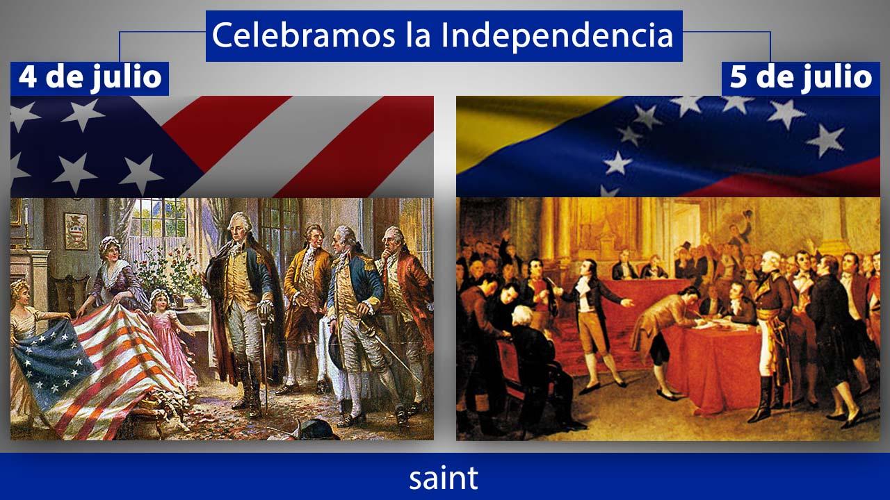 Celebramos la independencia