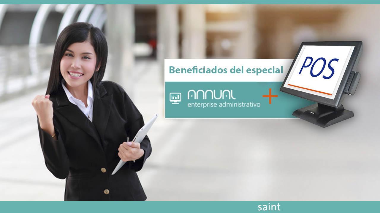 Lista de beneficiados del Especial Annual enterprise + POS, ahorro de puntos