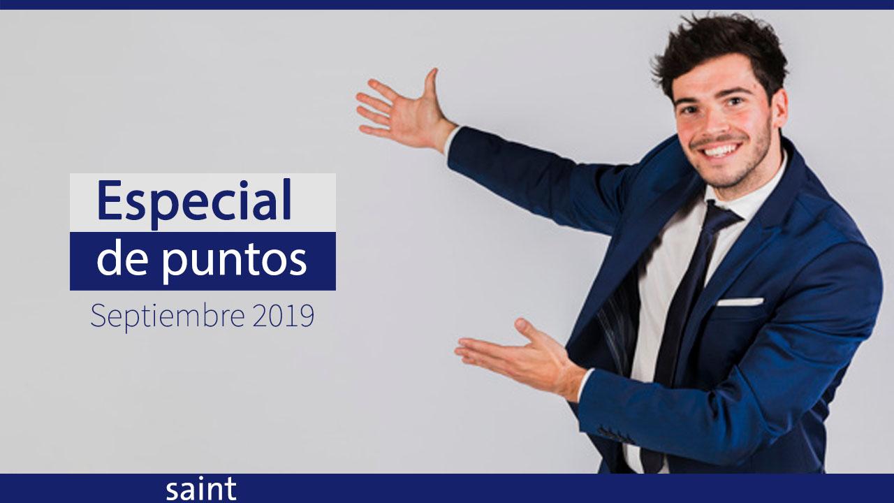 Especial de puntos septiembre 2019, Venezuela.