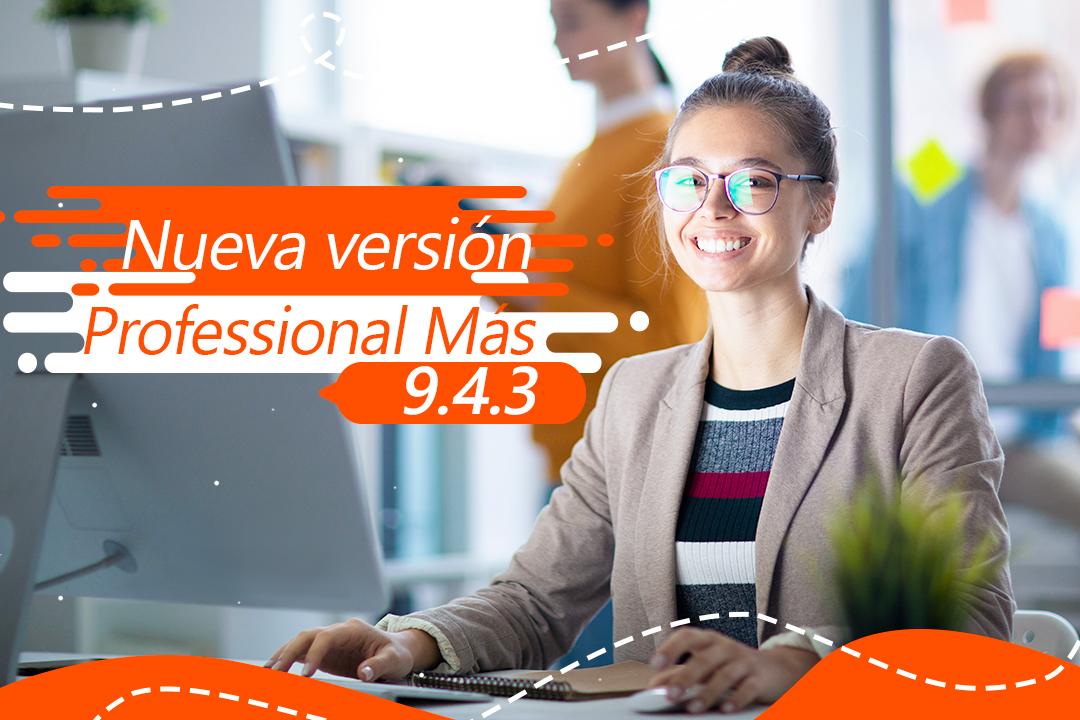 Nueva versión de Annual Professional más 9.4.3.