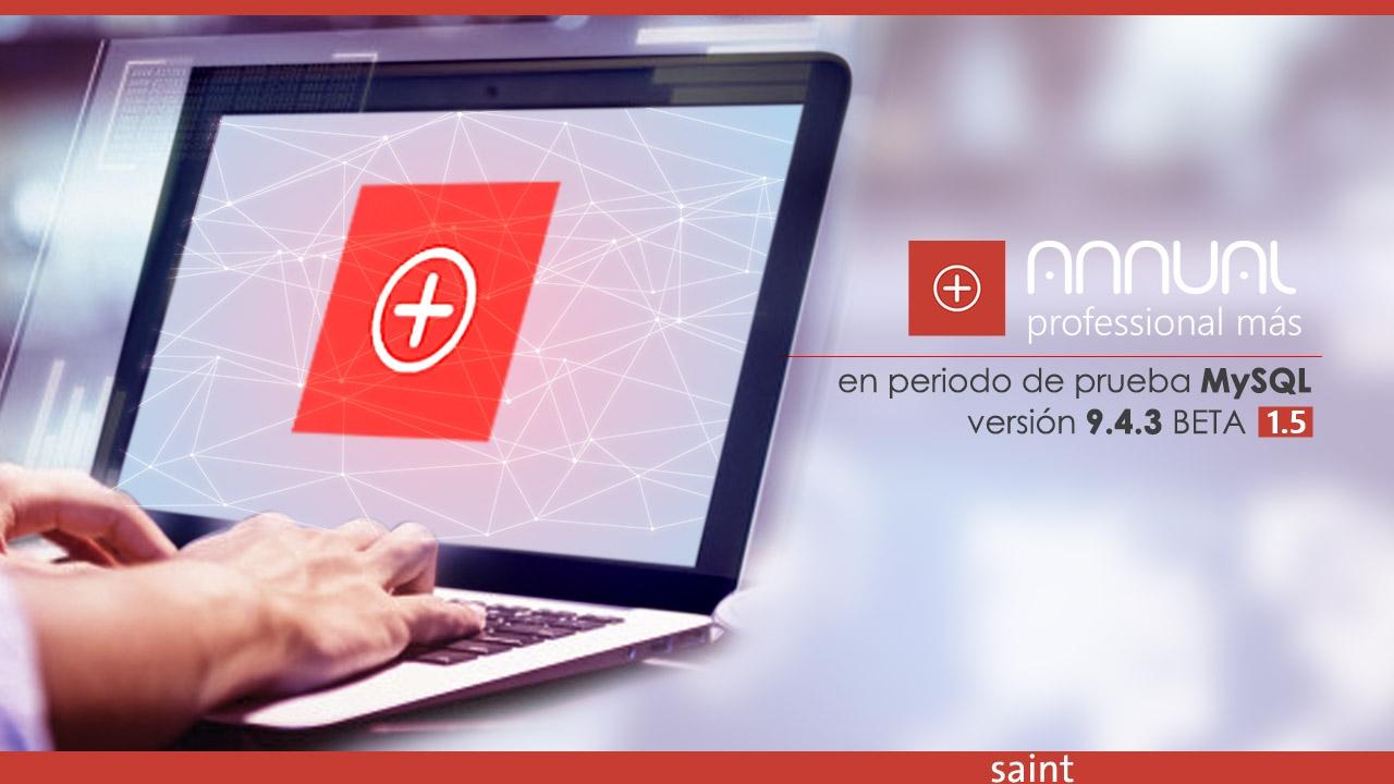 Migrar ANNUAL Professional Más File System a MySQL