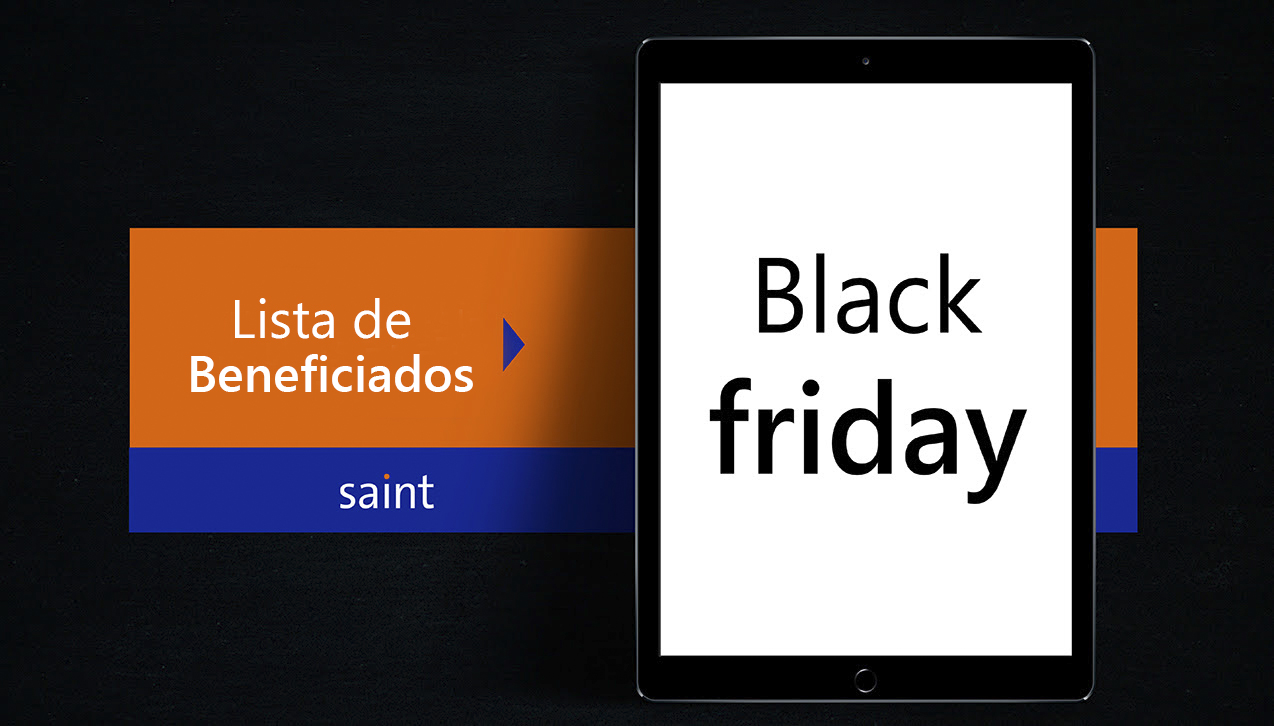 Beneficiados del especial «Llegó el Black Friday 2019»