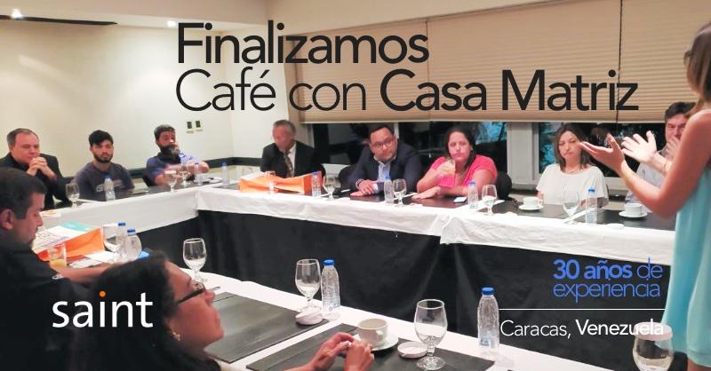 Finalizamos Café con Casa Matriz