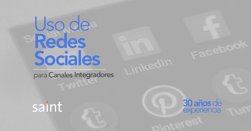 Redes sociales para Canales Integradores