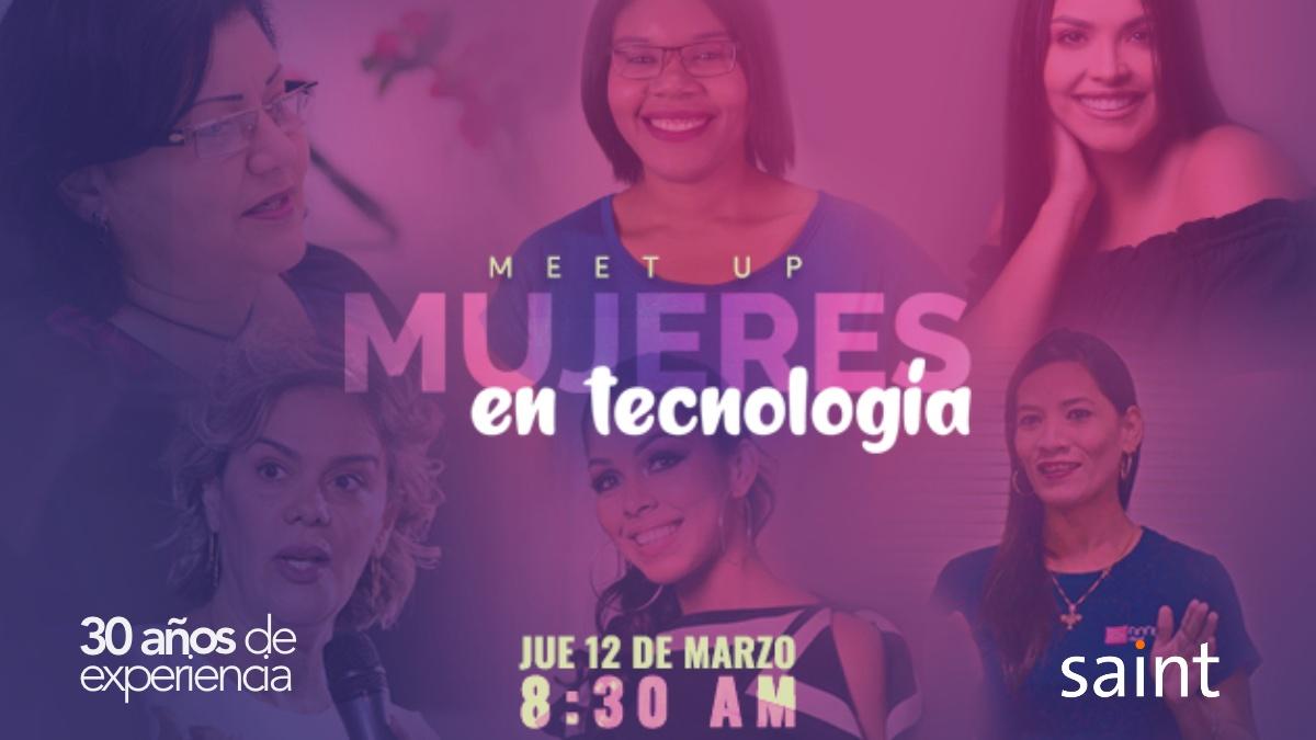 Meetup Mujeres en Tecnología