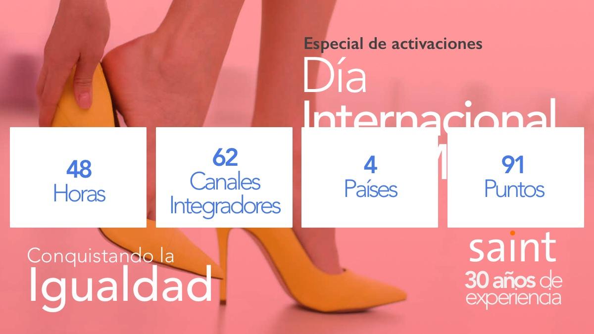 Beneficiados Especial de activaciones, Día Internacional de la Mujer 2020