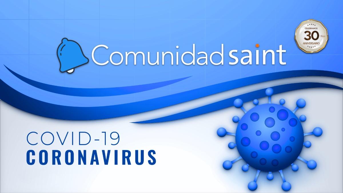 Nota a los miembros de la comunidad saint sobre COVID-19